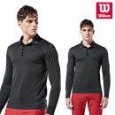 윌슨 남성 기모티셔츠 3637 블랙 긴팔티셔츠 단체복