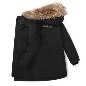 캐나다st  진짜 오리털 어린이 겨울 구스 롱패딩 EX9