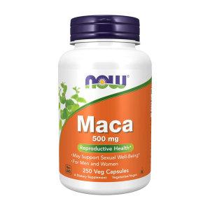 Now Foods 마카 Maca 500 mg 250 베지 캡슐