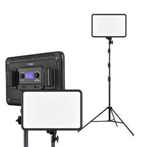 유튜브 개인 방송조명 거치대 세트 2100 LUX(1m)