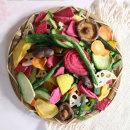 동결건조 9종 과일 야채 믹스칩 과자 150g 대용량 MD6