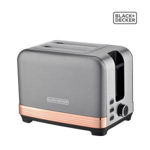 블랙앤데커 슈넬 2구 팝업 토스터기 BXET2001-A