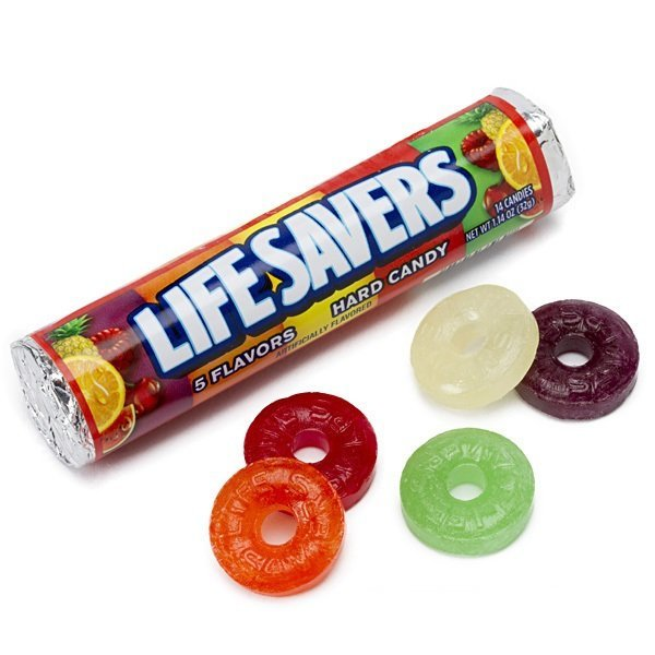 LifeSavers 5가지 과일 캔디 사탕 32 g