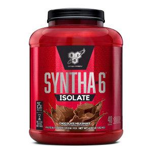 신타6 아이솔레이트 초콜릿 밀크쉐이크 프로틴 파우더 48 서빙 단백질 보충제 1.82 kg