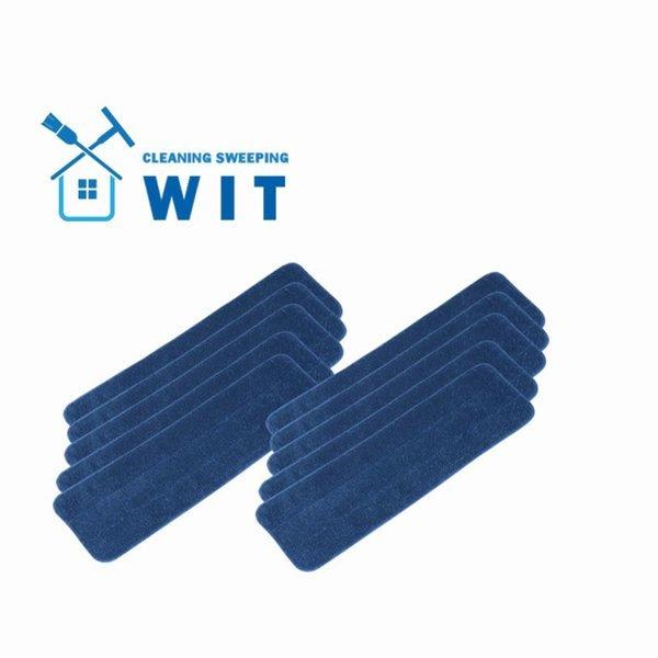 WIT 극세사 루프형 밀대 패드 10P 물청소용 밀대걸레