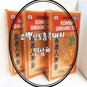 국내산 인삼으로 고려인삼차 100포x3박스 +1(총4박스)