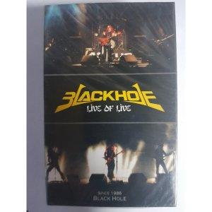 블랙홀 (Black Hole) Live Of Live  2테이프 미개봉