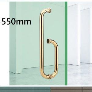 L-550 골드  강화도어손잡이 유리문 600 800