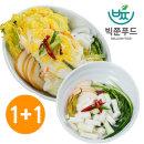 빅쭌김치  백김치5kg+동치미5kg 키즈상품 국내산 빅