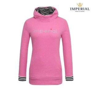 (현대Hmall) 임페리얼  여성 쁘티후드 티셔츠 핑크  (P0X140573)