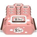 오구오구 아기물티슈 핑크 60gsm 캡형 80매 x 10팩