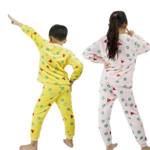 짱구 도형 아동 잠옷 밍크 흰둥이 기모 겨울 유아
