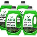 고농축 유칼립 액체세제 2.5L X 4개 세탁 총10000ml