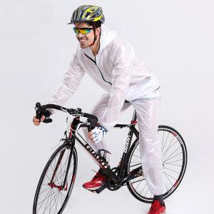 골프우의 남자 우비 자전거 비옷 고급 판초 우의 판쵸