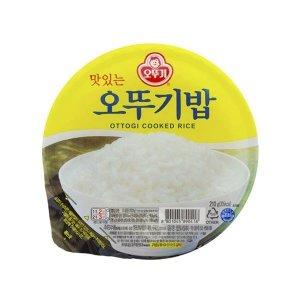 맛있는 오뚜기밥 210gx36개/즉석밥