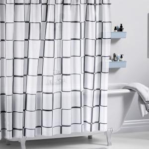 샤워커튼-큐브/PEVA 욕실 커튼 목욕 화장실 가림막