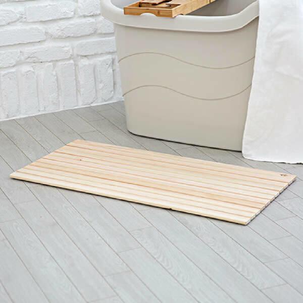 (현대Hmall)편백나무 롤 발매트(대형) 욕실매트 욕실발판