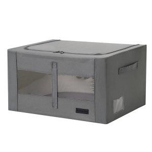 56L 리빙박스 1+1 /의류수납함 옷수납 정리박스