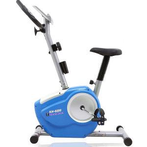 15단강약 실내자전거 KH8200 15단미세강약조절 블루