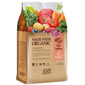 유기농 6free 플러스 소고기와연어 5.6kg (마스크증정)