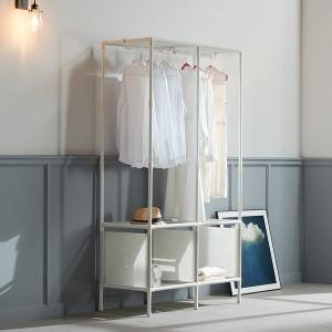 MF무볼트 드레스룸 더블행거 반이동식 시스템