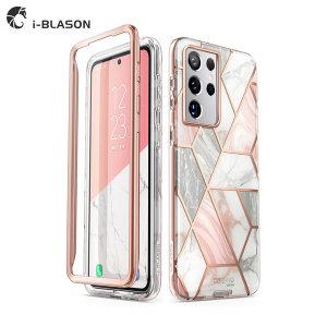 iBlason 갤럭시 S21울트라 케이스 범퍼 하드 보호커버