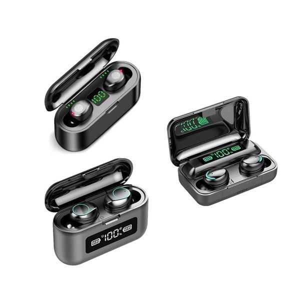 (빠른직구)블루투스 5.0 무선 이어폰 3개 1+1+1 LED