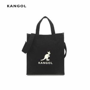 (현대백화점) 캉골  헥사 캔버스 투웨이 토트백 3809 블랙 (가방/토트백/에코백)