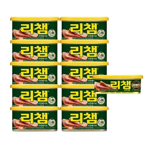 동원 리챔 자연레시피 200g x10캔 + 리챔 120g