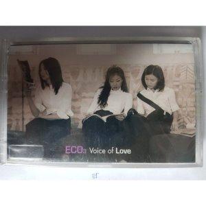 에코 (Eco) 3집 Voice Of Love 테이프 미개봉