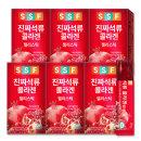진짜 석류 콜라겐 젤리 스틱 6박스(총 90포)