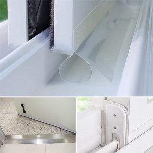 창문 외풍차단 문풍지 틈막이 / 투명문풍지 25mmx2m