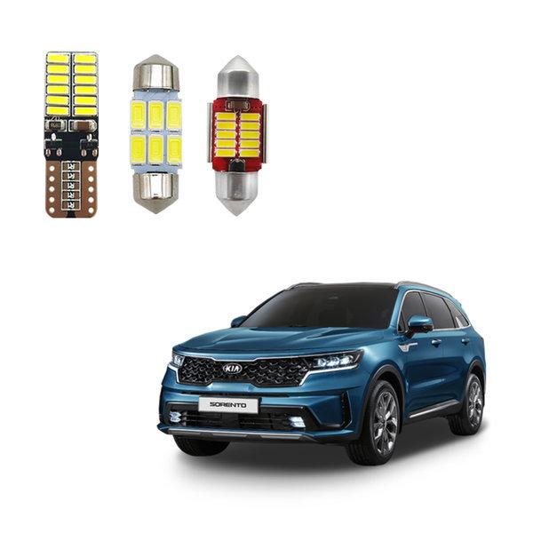 + 2020년 쏘렌토 MQ4 LED실내등 /전방등 T10/2