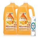 자연퐁 주방세제 오렌지 3.1kg 2개 +키친타올