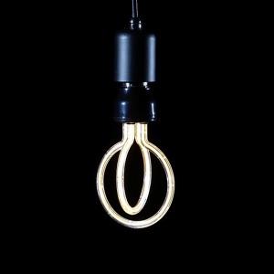 에디슨 LED 캔들 벤딩 램프 연꽃 4W 숏타입 전구색
