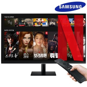 삼성 32인치 TV IPTV 스마트 모니터 넷플릭스 DEX FHD