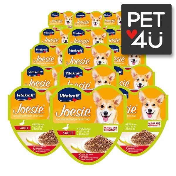 강아지캔 조에시 하트캔 오리와배 85gX15개 습식사료