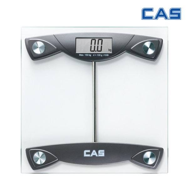 카스 초슬림 고밀도강화유리 CAS 디지털체중계 HE-18
