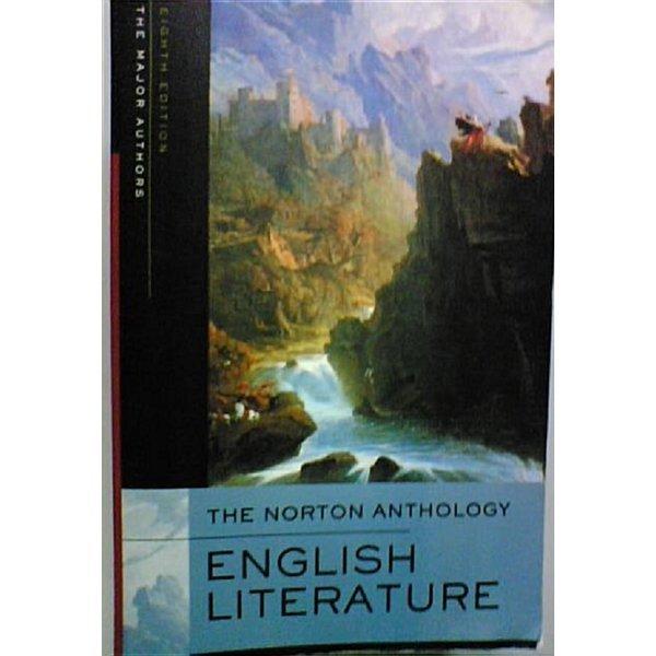 The Norton Anthology of English Literature  (Paperback/ 8th Ed.)  /(상세설명참조바람)
