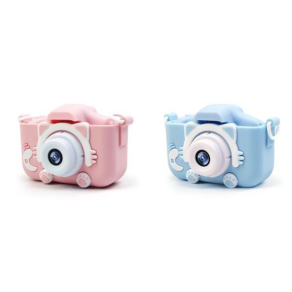 넥스 X5S 고양이발 카메라 2000만 블루+핑크 선물용