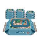 바이탈 플러스 스트롬볼리 휴대캡형 물티슈 20매x12팩