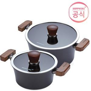 그래핀 IH 프리미엄 냄비 2종세트 (18양수/24곰솥)