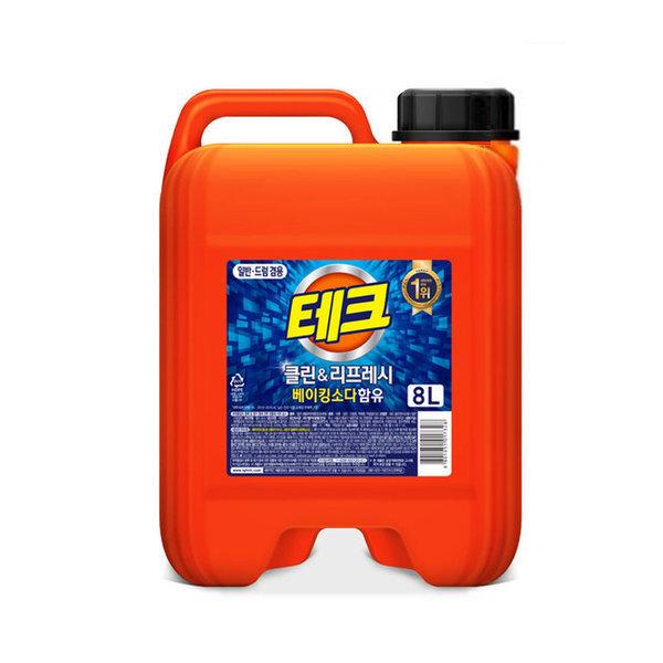 테크 파워 액체세제(겸용) 대용량 8L