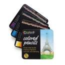 Colore 꼬로레 유성색연필(72색) 틴케이스 + 사은품2종