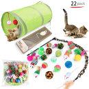 묘심 고양이 입양 종합선물세트 22개입 필수장난감모두