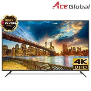 에이스글로벌 65 UHD TV 엘지패널정품4K HDR 방문설치