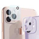 1+1 아이폰 11 카메라 렌즈 풀커버 강화유리 보호필름