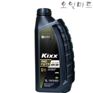 오일마트 KIXX PAO C2/C3 5W30 1L 킥스 파오 엔진오일