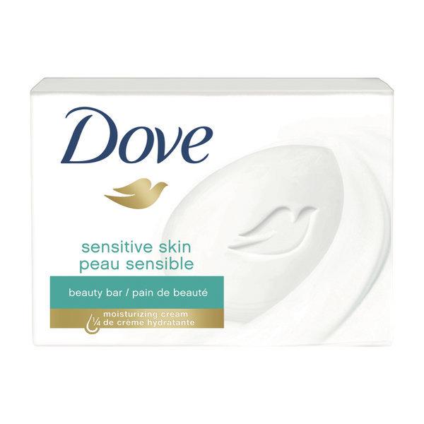 Dove 미국 직구 센서티브바 센스티브 뷰티바 스킨 올인원 비누 솝 샴푸 바디워시 106 g