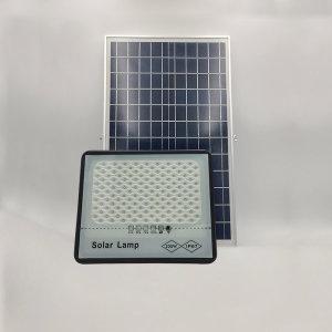 태양광 LED 가로등 투광기 200W 태양열 정원등 부착형